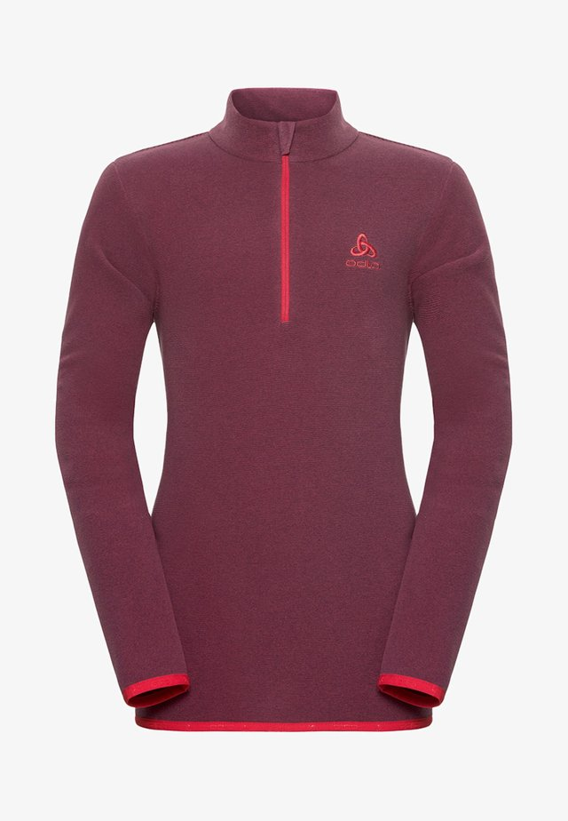 MIDLAYER ROYALE KIDS  - Sports shirt - berry