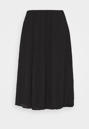 CECILIE SKIRT - Gonna a campana - black