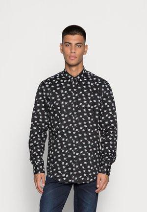 NAPOLI SLIM FIT - Shirt - black