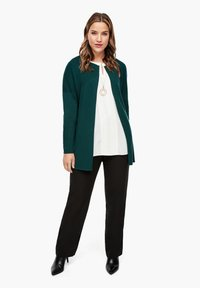 Triangle - Cardigan - emerald - 1