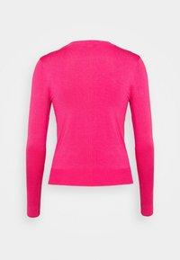 Marks & Spencer London - CREW CARDI PLAIN - Cardigan - pink - 7