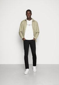 TOM TAILOR DENIM - SUPER PIERS  - Slim fit jeans - black denim - 2