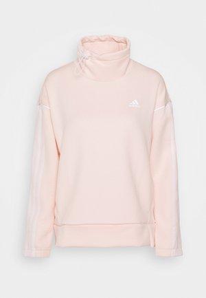 Sudadera - pink tint/white