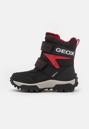 HIMALAYA BOY WPF - Bottes de neige - black/red