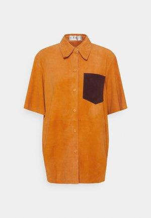 SHORT SLEEVE - Košile - tropical punch orange