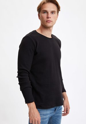 MAN - Long sleeved top - black
