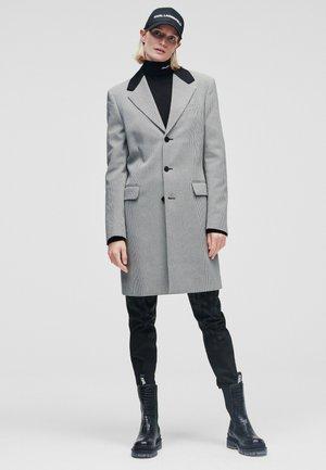 Classic coat - black/white