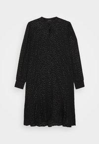 Bruuns Bazaar - ALEXANDRIA CAMARI DRESS - Shirt dress - black - 5
