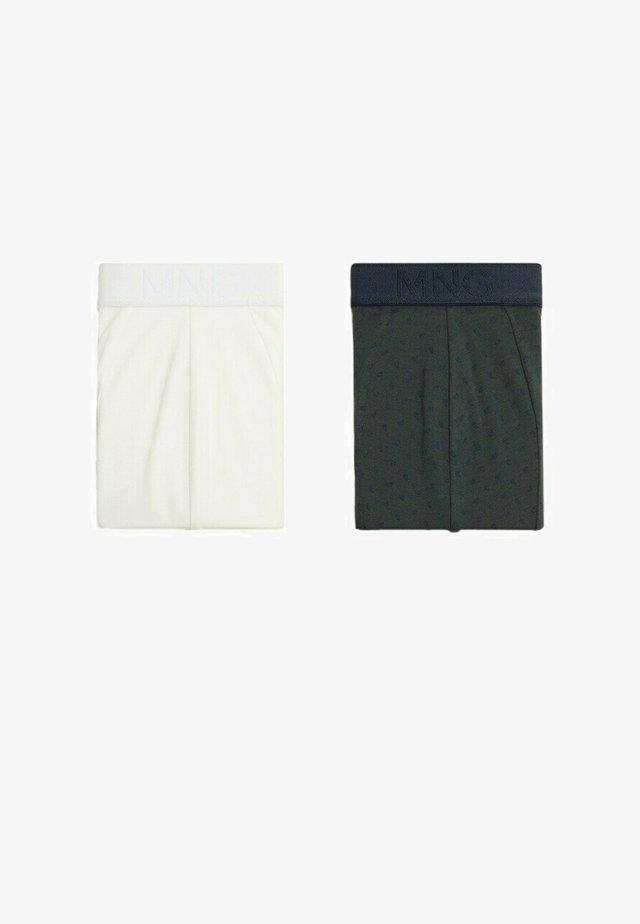 2 PACK - Shorty - blanc cassé