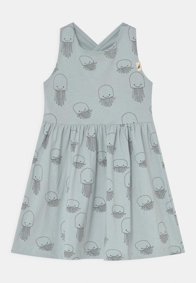 JELLYFISH DRESS - Sukienka z dżerseju - blue