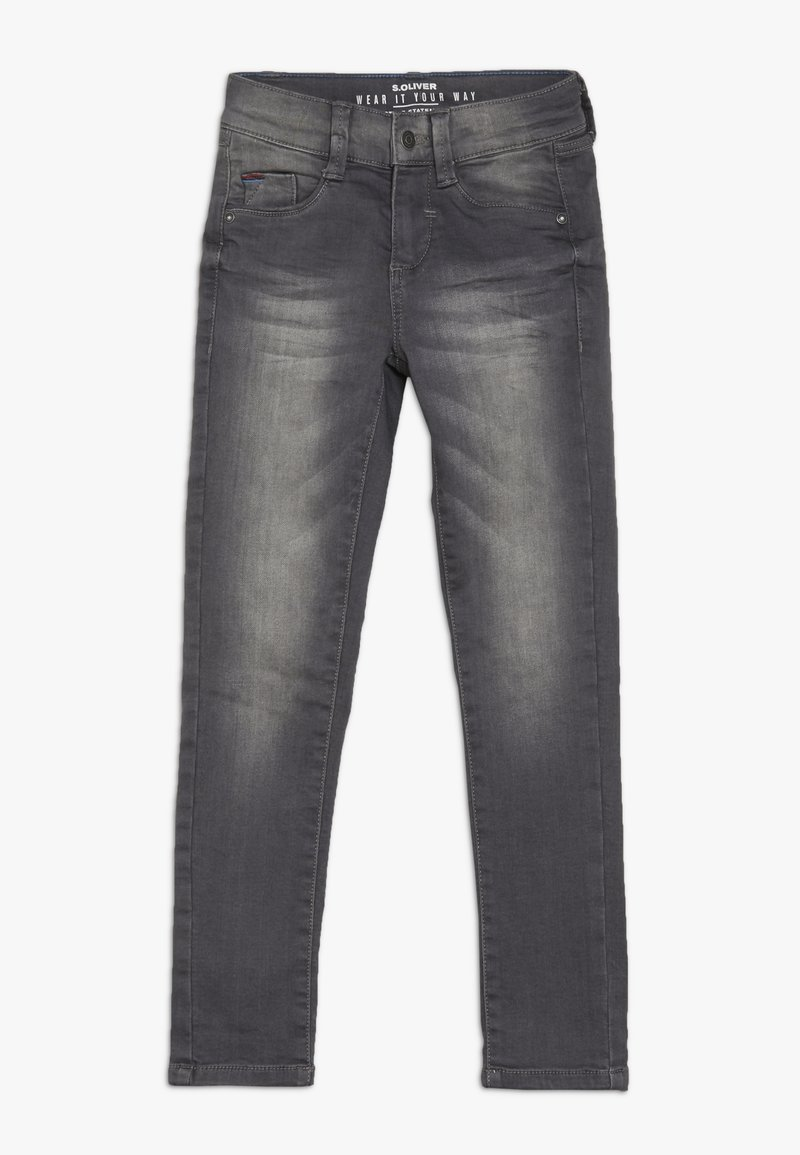 s.Oliver - Slim fit jeans - grey denim