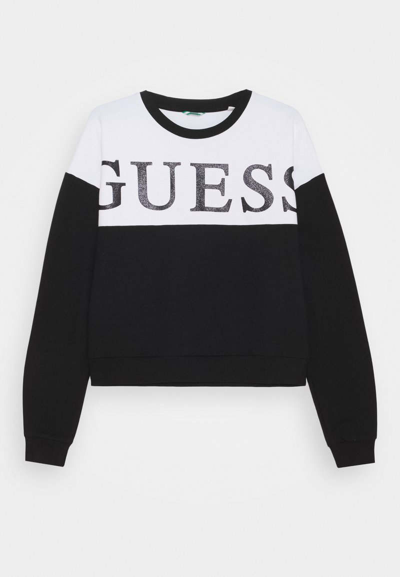 Guess - JUNIOR ACTIVE - Mikina - jet black