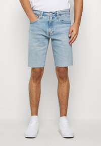 Levi's® - SLIM SHORT - Jeansshort - light-blue denim - 0