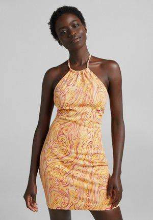 Shift dress - orange