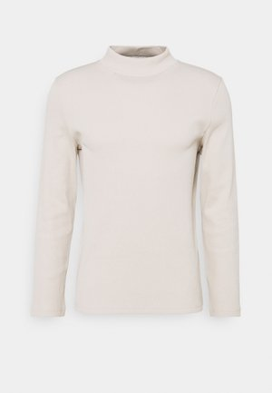 MOCK NECK TEE - Pullover - ivory