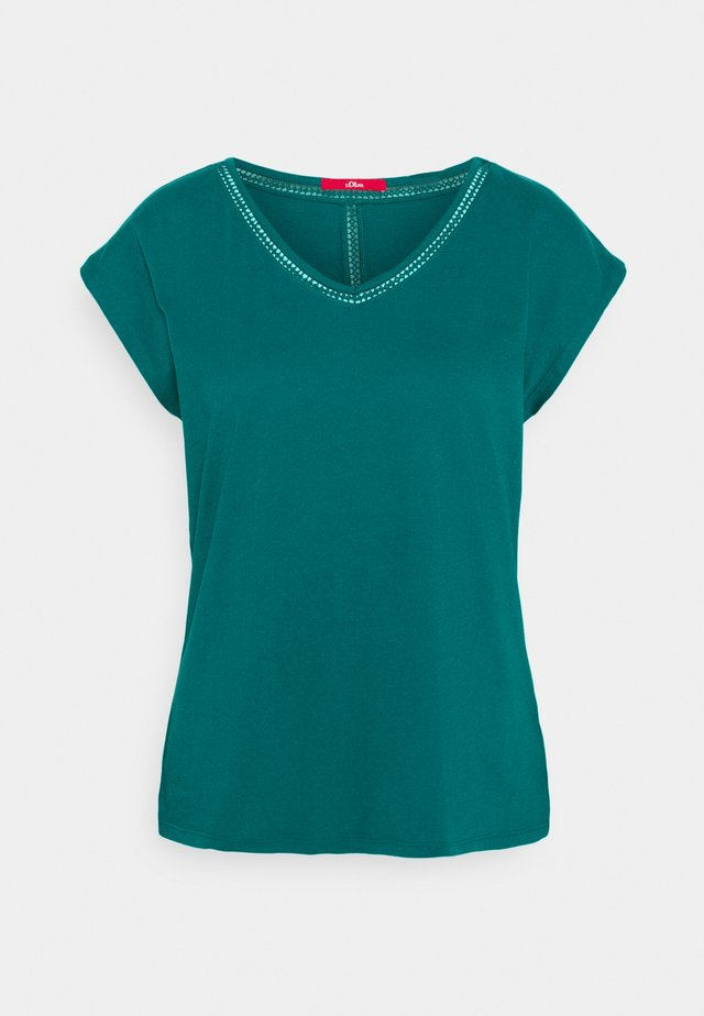 T-Shirt basic - everglade blue