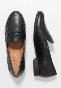 Caprice - Nazouvací boty - black - 3