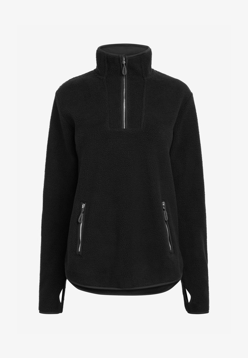 Next - Fleece jumper - black