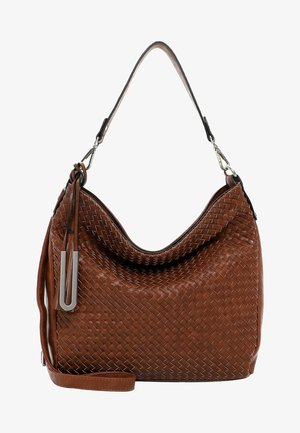 FALINA - Handbag - cognac