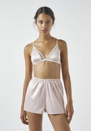 Triangle bra - rose