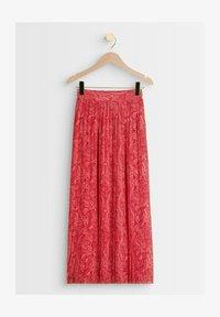 Maison 123 - Pleated skirt - rose rouge - 2