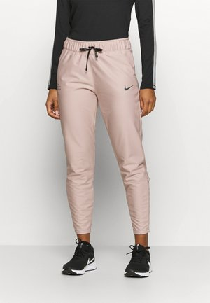 RUN DIVISION SHIELD PANT - Tracksuit bottoms - stone mauve/black