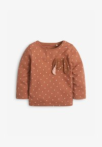 Next - BUNNY  - Long sleeved top - brown - 0