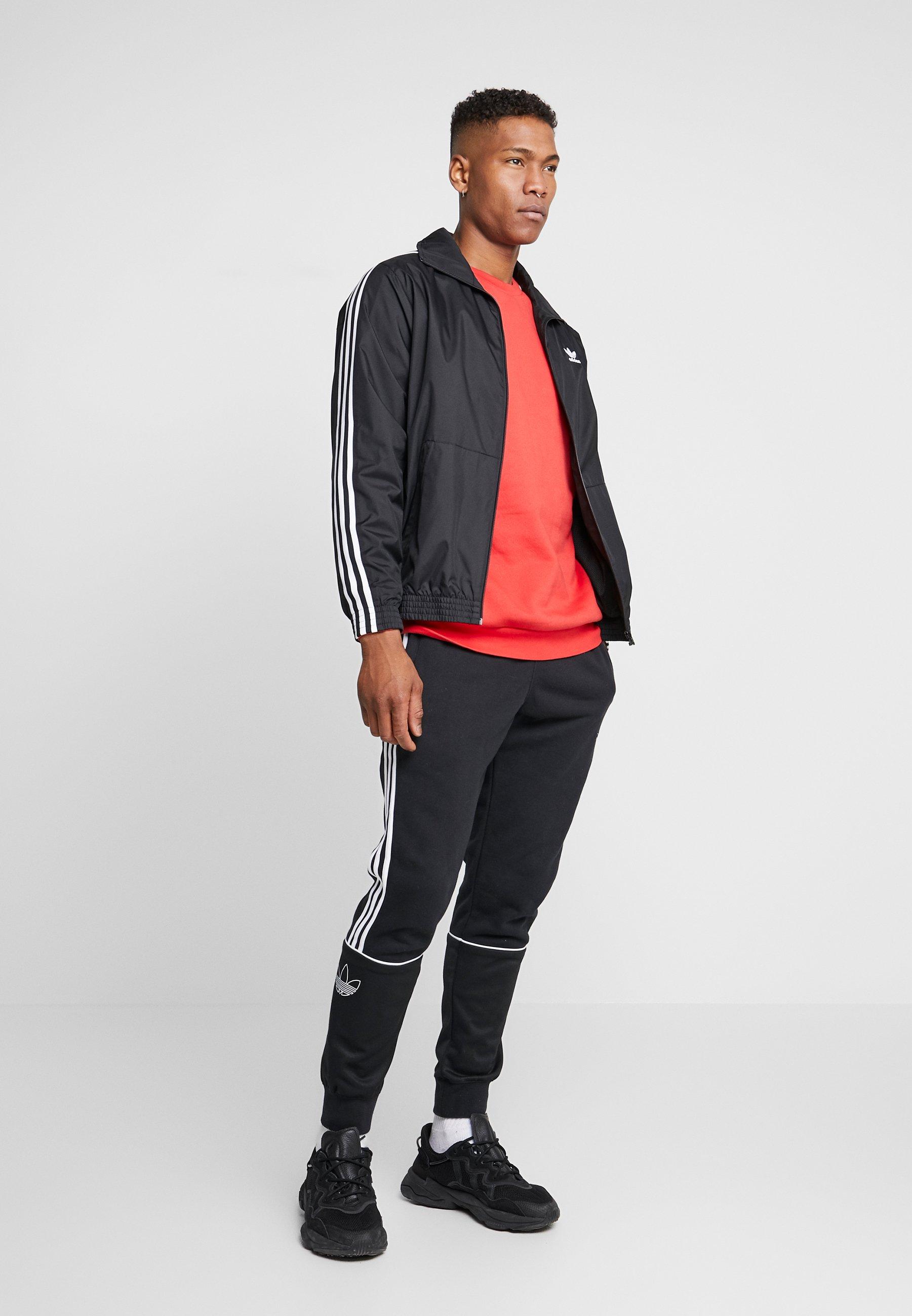 adidas Originals LOCK UP ADICOLOR SPORT INSPIRED TRACK TOP - Veste de survêtement - black