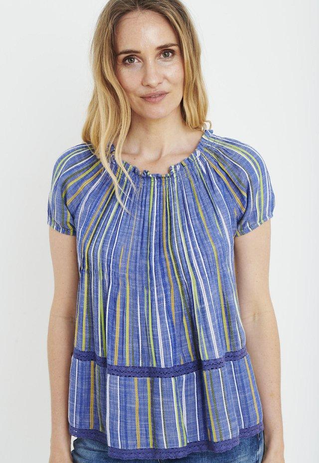 PZPAULA  - Blouse - blue stripe