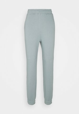 Loose Fit Joggers with seam detail - Tracksuit bottoms - green