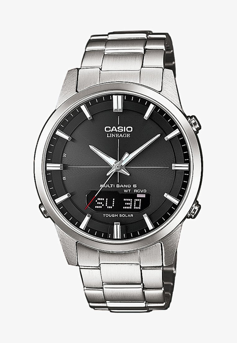 Casio - Watch - silver-coloured
