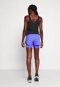 Nike Performance - 2IN1 SHORT - Pantalón corto de deporte - sapphire/light thistle/reflective silv - 2