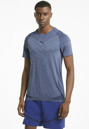 TRAIN TECH  - T-shirt basic - elektro blue