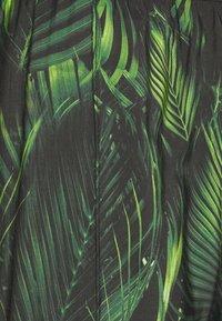 9N1M SENSE - SPECIAL PIECES PANTS UNISEX - Trousers - black/green - 7