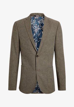 SLIM FIT  - Blazer jacket - beige