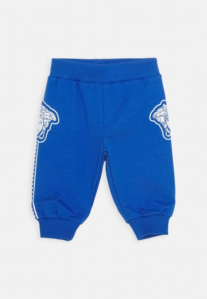 Versace - BOTTOM FELPA UNISEX - Trousers - bluette