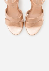 New Look Wide Fit - WIDE FIT POSSUM WEDGE - High heeled sandals - rose gold - 5