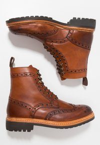 Grenson - FRED - Lace-up ankle boots - tan - 1