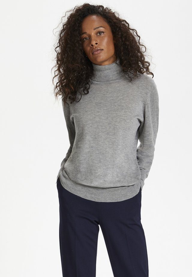 Maglione - frost gray melange