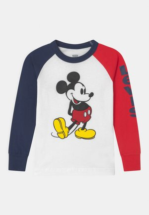 MICKEY MOUSE UNISEX - Long sleeved top - white