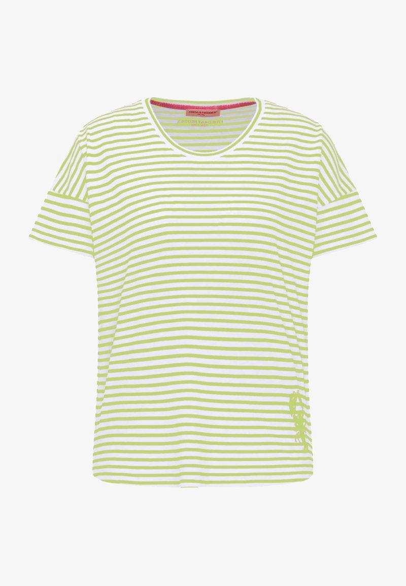 Frieda & Freddies - Print T-shirt - green island