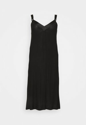 PRETTY SECRETS TRIM NIGHTIE - Nattskjorte - black