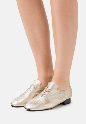 CHARLOTTE - Šněrovací boty - or