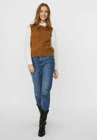Vero Moda - Top - tobacco brown - 1