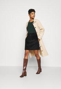 Noisy May - JUDO PAPERBAG SKIRT  - A-line skirt - black - 1