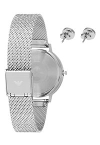 Emporio Armani - SET - Klocka - silver-coloured - 2