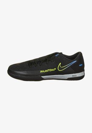 Indoor football boots - black/cyber/light photo blue
