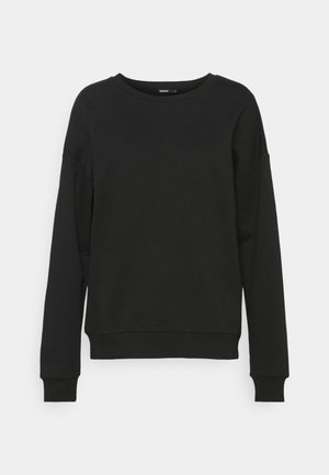 ONLDREAMER LIFE O NECK - Sweatshirt - black