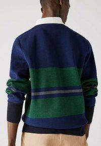 Lacoste - Polo shirt - navy blau / blau / grün / beige / weiß - 2