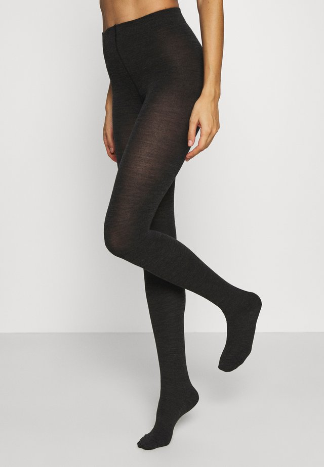 Tights - anthrazit melange